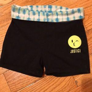 Justice biker shorts